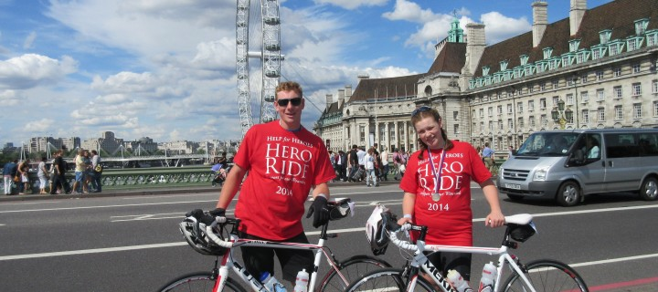 Fundraising on a Bike