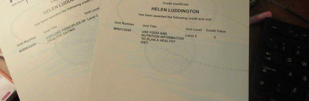 Nutrition and Health qualifications inform new nursery menu.